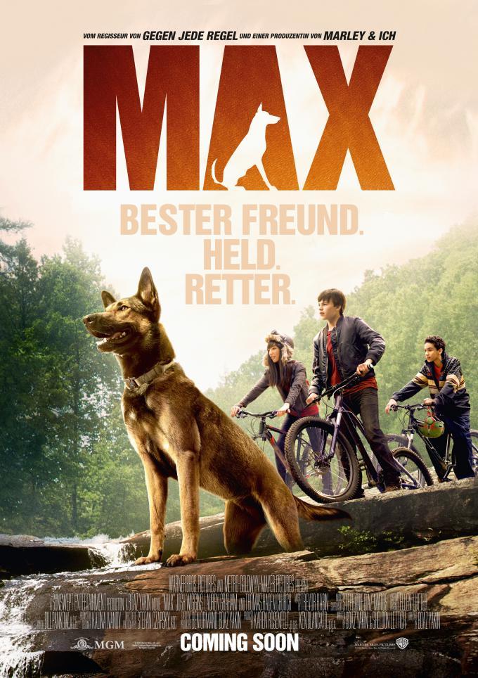 ดูหนังฟรีออนไลน์ MAX (2015) แม็กซ์ สี่ขาผู้กล้าหาญ HD