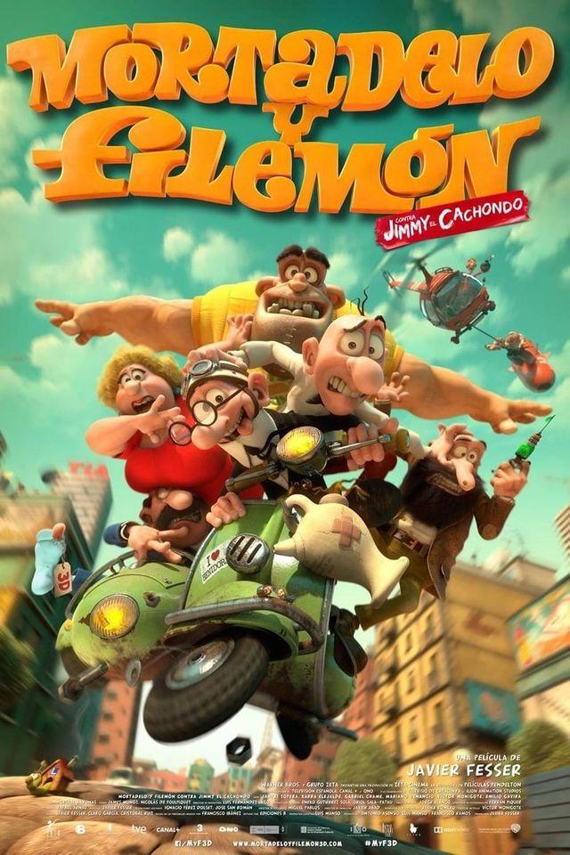 ดูการ์ตูนออนไลน์ Mortadelo & Filemon คู่หูสายลับสุดบ๊องส์