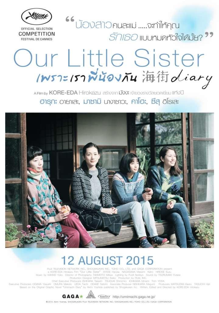 ดูหนังฟรีออนไลน์ Our Little Sister (2015) เพราะเราพี่น้องกัน HD พากย์ไทย ซับไทย เต็มเรื่อง