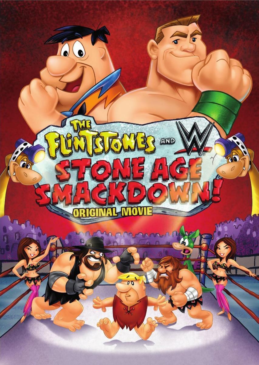 ดูการ์ตูนออนไลน์ The Flintstones & WWE Stone Age Smackdown (2015) มนุษย์หินฟลินท์สโตน กับศึกสแมคดาวน์ พากย์ไทย