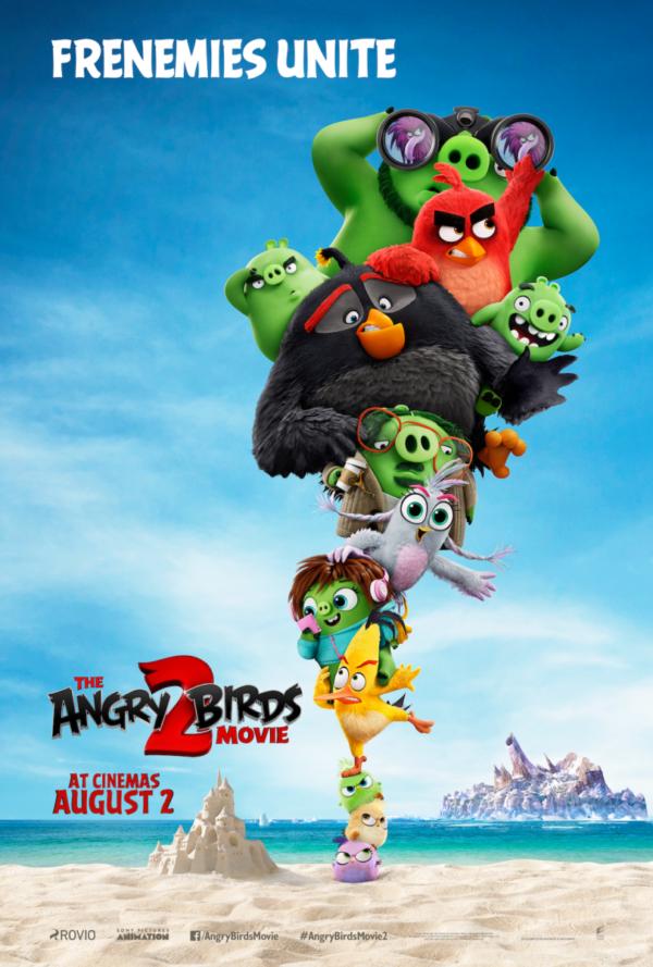 ดูการ์ตูนแอนิเมชั่น The Angry Birds Movie 2 แอ็งกรี เบิร์ดส เดอะ มูฟวี่