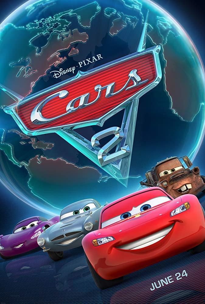 Cars 2 (2011) สายลับสี่ล้อ ซิ่งสนั่นโลก ดูหนังออนไลน์ใหม่ฟรี HD