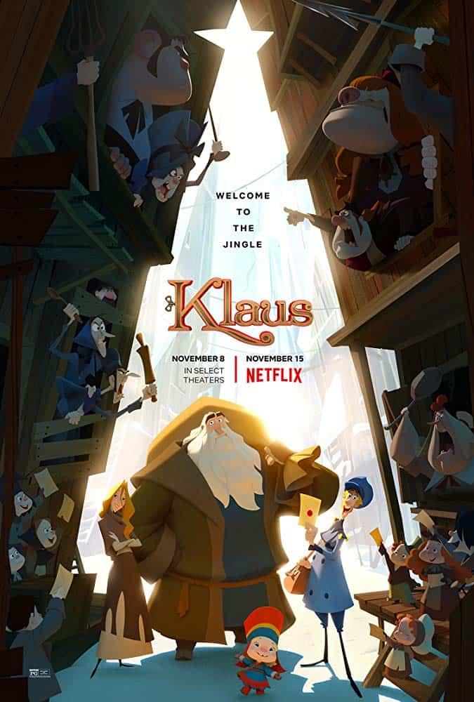 Klaus (2019) มหัศจรรย์ตำนานคริสต์มาส ดูภาพยนต์ออนไลน์ฟรี HD