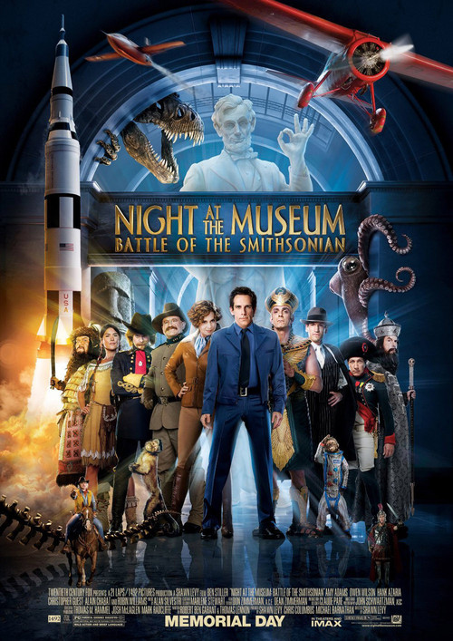 ดูหนังออนไลน์ Night at The Museum 2 Battle Of The Smithsonian (2009) มหึมาพิพิธภัณฑ์ ดับเบิ้ลมันส์ทะลุโลก พากย์ไทยเต็มเรื่อง เว็บดูหนังออนไลน์ฟรี มาสเตอร์ HD
