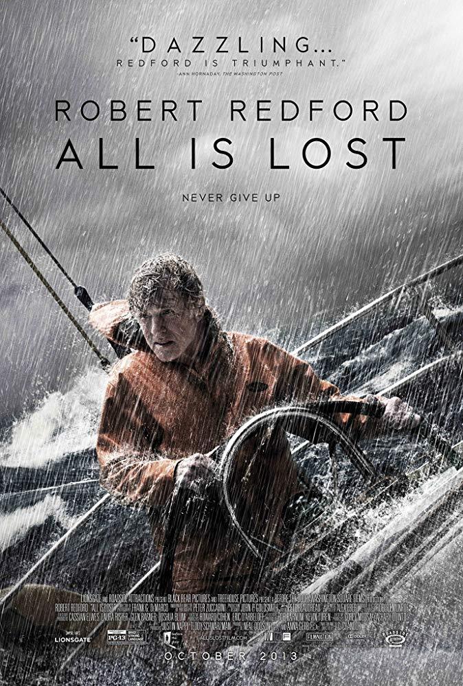 ดูหนังออนไลน์ฟรี All Is Lost (2013) ออล อีส ลอสต์ มาสเตอร์ HD เต็มเรื่อง พากย์ไทย