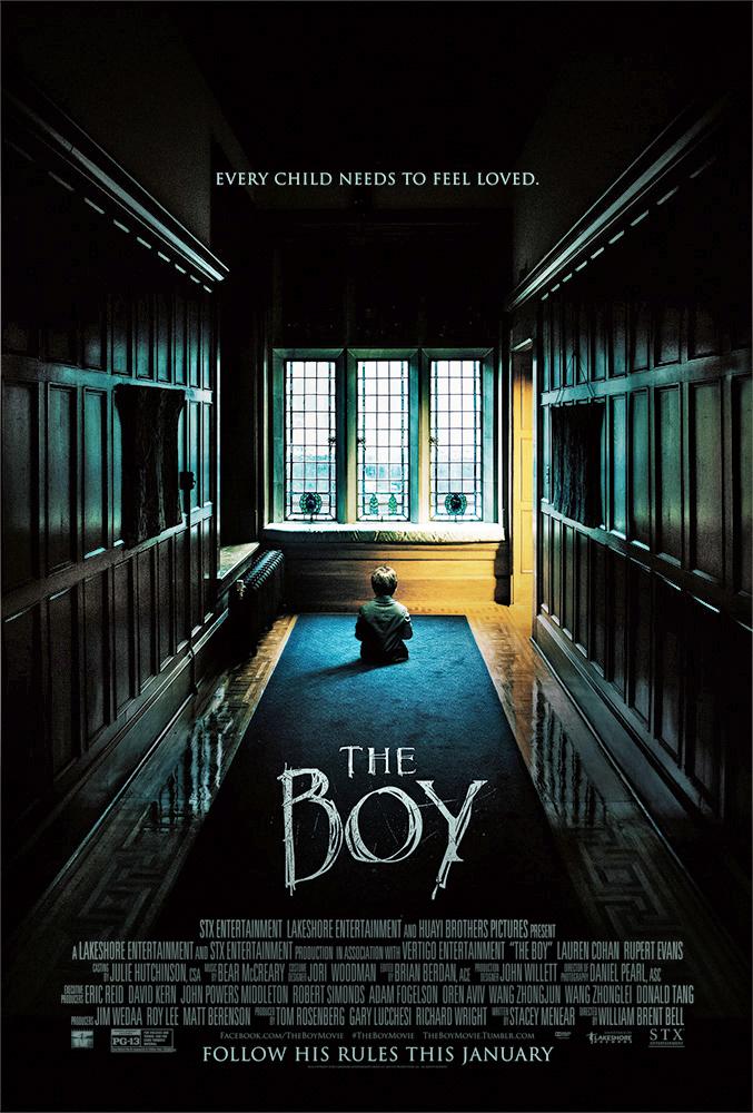 ดูหนังออนไลน์ The Boy (2016) ตุ๊กตาซ่อนผี HD เต็มเรื่อง พากย์ไทย มาสเตอร์