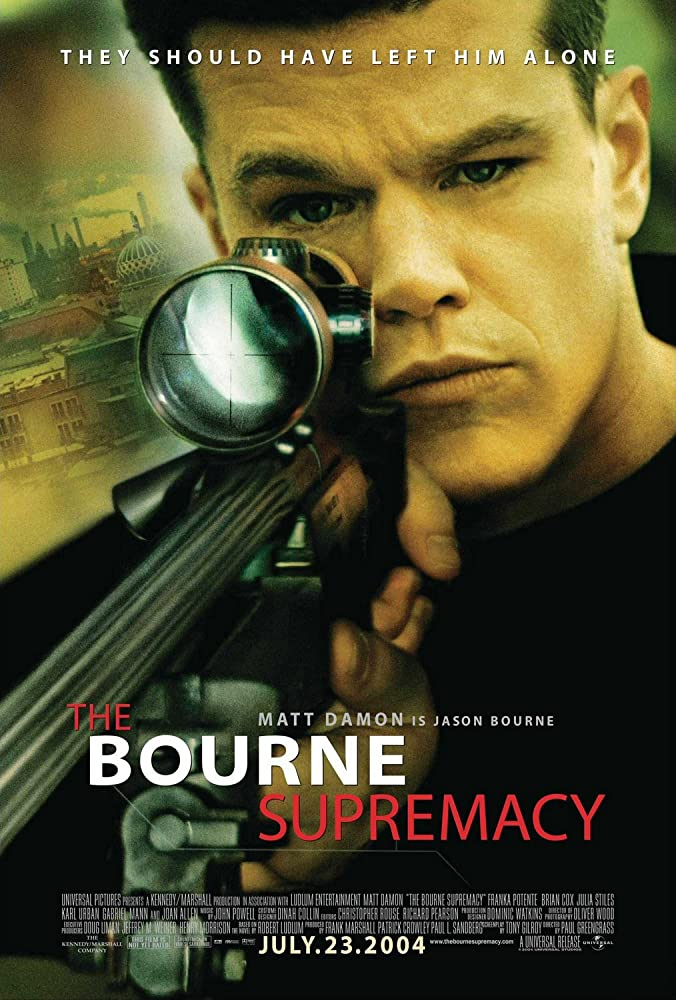 ดูหนังออนไลน์ The Bourne 2 Supremacy (2004) สุดยอดเกมล่าจารชน 2 HD พากย์ไทยเต็มเรื่อง