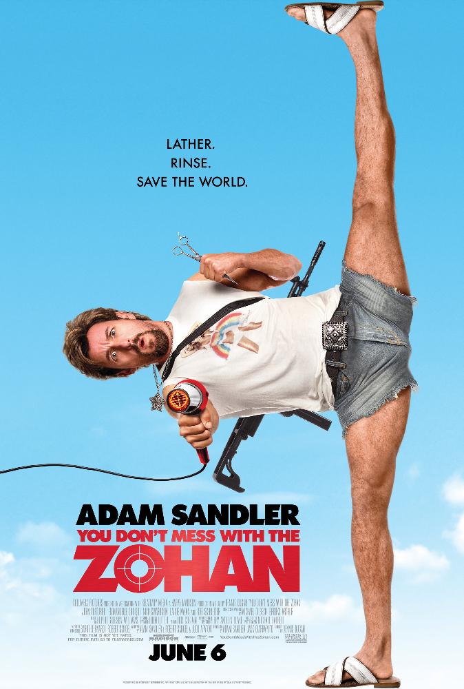 ดูหนังออนไลน์ You Don't Mess with the Zohan (2008) อย่าแหย่โซฮาน เต็มเรื่อง พากย์ไทย