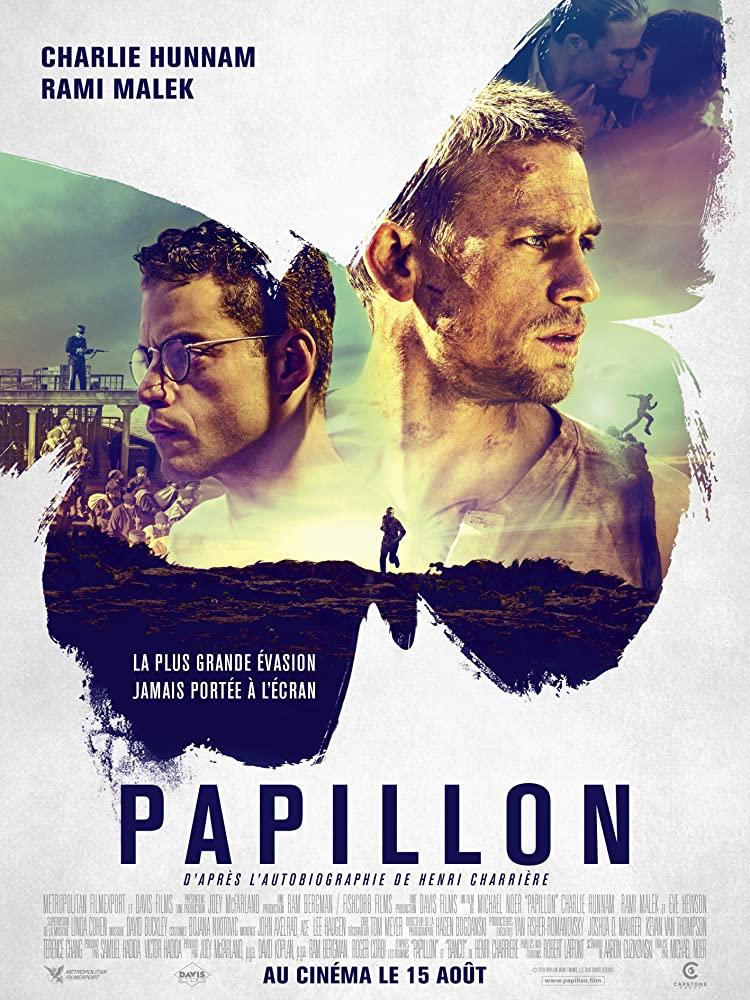 Papillon (2017) ปาปิยอง หนีตายเเดนดิบ พากย์ไทยเต็มเรื่อง HD
