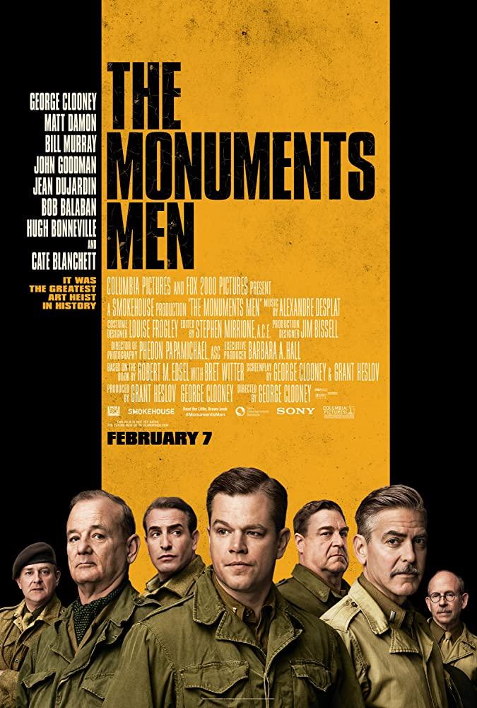 The Monuments Men (2014) กองทัพฉกขุมทรัพย์โลกสะท้าน พากย์ไทยเต็มเรื่อง