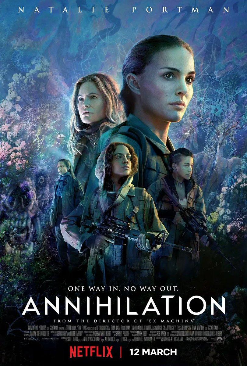 ดูหนังฟรีออนไลน์ Annihilation (2018) แดนทำลายล้าง HD เต็มเรื่องพากย์ไทย ซับไทย มาสเตอร์ ดูหนังใหม่แนะนำ Netflix เว็บดูหนังฟรีชัด 4K