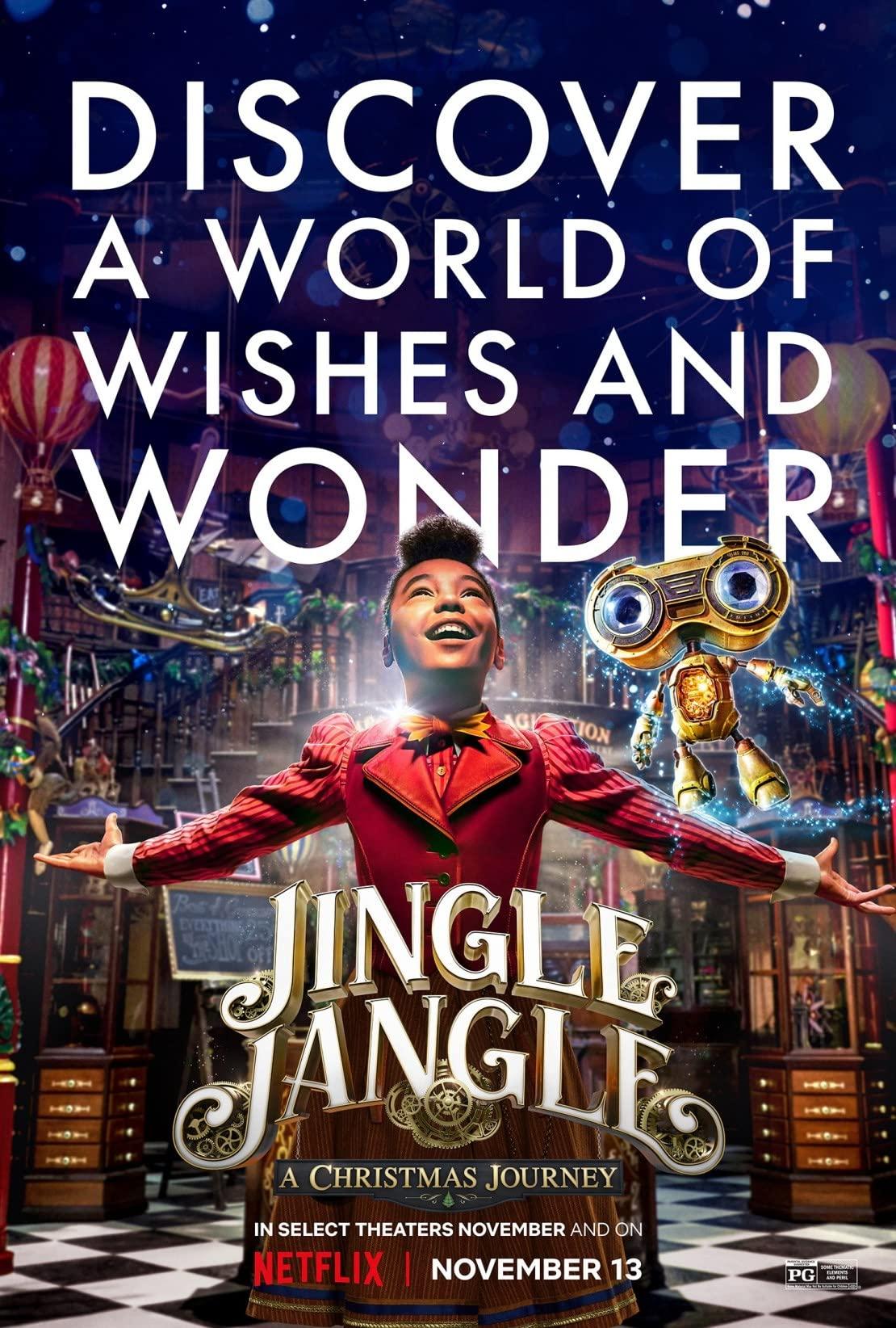 Jingle Jangle: A Christmas Journey (2020) จิงเกิ้ล แจงเกิ้ล คริสต์มาสมหัศจรรย์ | Netflix