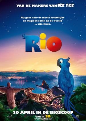 ดูหนังการ์ตูน Rio (2011) เจ้านกฟ้าจอมมึน พากย์ไทย เต็มเรื่อง