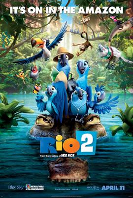 Rio 2 (2014) เจ้านกฟ้าจอมมึน ภาค 2