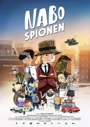 ดูหนังการ์ตูนอนิเมชั่น Next Door Spy (Nabospionen) (2017) สายลับรุ่นใหม่ พากย์ไทยเต็มเรื่อง