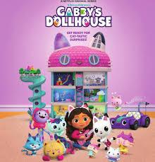 ดูซีรี่ย์ Netflix Gabby's Dollhouse (2021) บ้านตุ๊กตาของแก็บบี้ [EP.1-10] จบเรื่อง