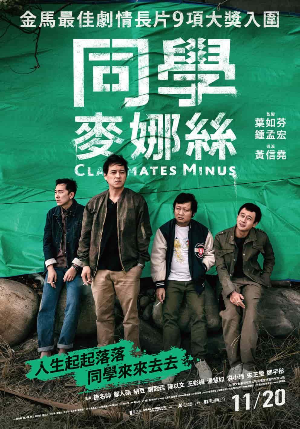ดูหนังใหม่ Classmates Minus (2020) เพื่อนร่วมรุ่น ซับไทย