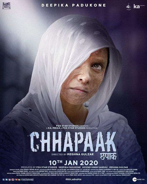 ดูหนังฟรีออนไลน์ Chhapaak (2020) HD เต็มเรื่อง