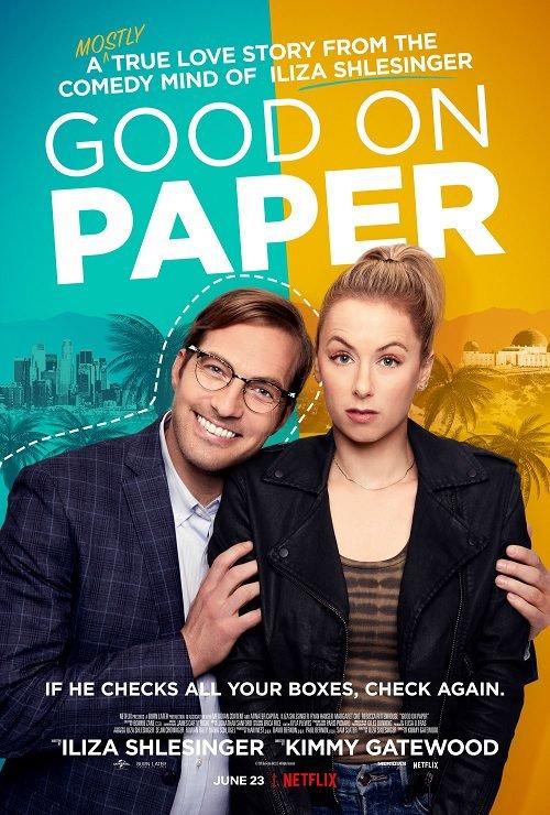 ดูหนังฟรีออนไลน์ GOOD ON PAPER (2021) หนุ่มเพอร์เฟค HD