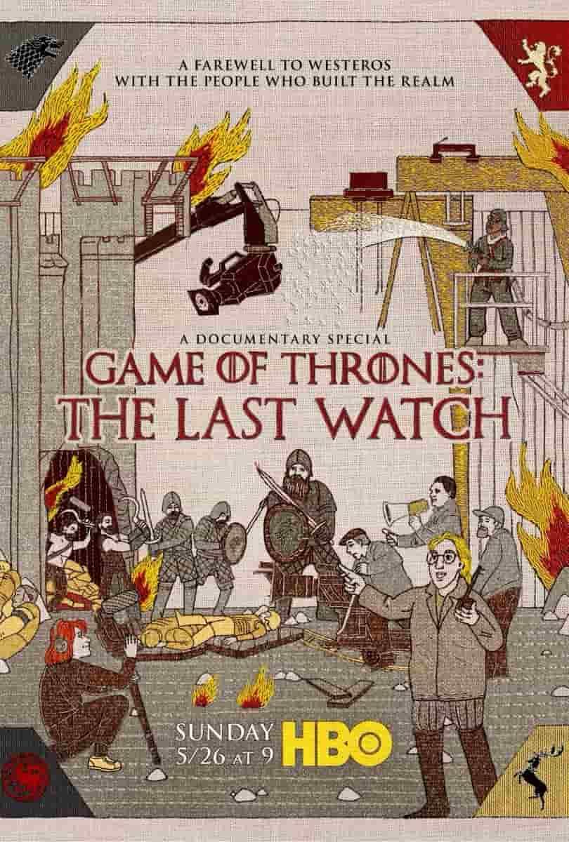 ดูหนังฟรีออนไลน์ Game of Thrones: The Last Watch (2019) HD พากย์ไทย ซับไทย เต็มเรื่อง