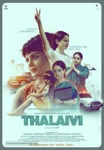 ดูหนัง NETFLIX Thalaivii (2021) HD